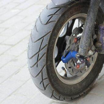 กุญแจกันขโมยสีดำ ล๊อกล้อ ล๊อกดิสเบรก Disc Brake Lock (มีประกันการใช้งาน)