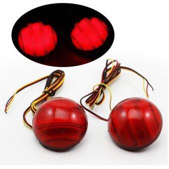 DMK ไฟทับทิมท้าย สีแดง For Fortuner 2005-2010
