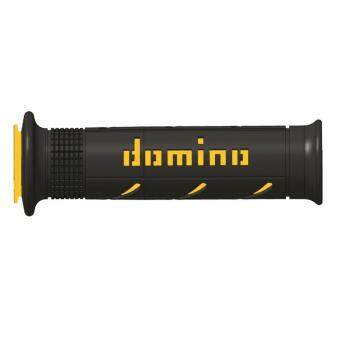 Domino ปลอกแฮนด์ XM2 super soft - สีดำ/เหลือง