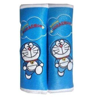 นวมหุ้มเข็มขัดนิรภัยรถยนต์ลิขสิทธิ์แท้ ลาย Doraemon