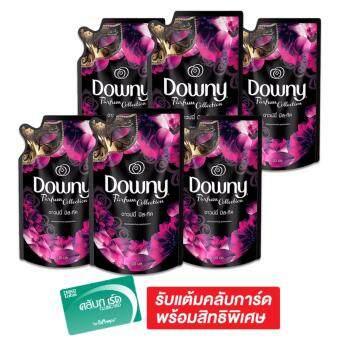 DOWNY ดาวน์นี่ น้ำยาปรับผ้านุ่ม สูตรมิสทิค 330 มล. X 3 ถุง (รวม 2แพ็ค ทั้งหมด 6 ถุง)