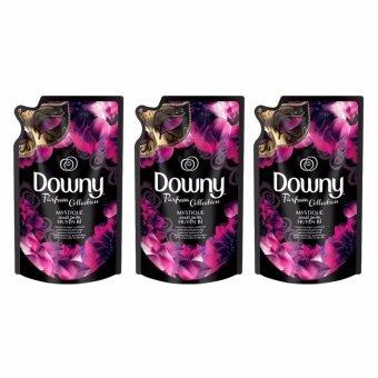 Downy น้ำยาปรับผ้านุ่ม ดาวน์นี่ มิสทิค Refill ขนาด 330 ml. แพ็ค3ถุง