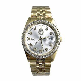 ราคา นาฬิกาข้อมือเฉลิมพระเกียรติฯ สำหรับสุภาพบุรุษ รุ่น EA9464GM_Silver