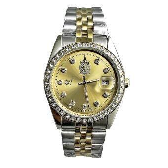 2561 นาฬิกาข้อมือเฉลิมพระเกียรติฯ สำหรับสุภาพบุรุษ รุ่น EA9464SKM_Gold
