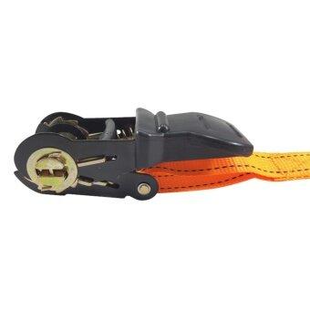E.F.W. Ratchet Tie Down สายรัด สินค้า สิ่งของ ขนของสายรัดโพลีเอสเตอร์ Polyester Loading 500kgs - 4