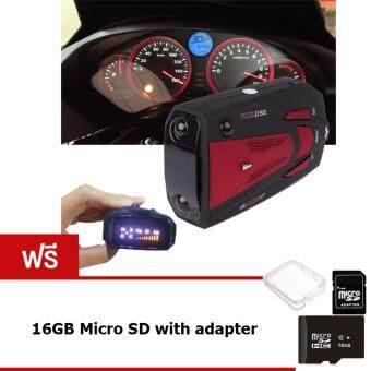 Elit เครื่องเตือนตรวจจับความเร็ว Car Radar Detector รุ่น CRD210-UY แถมฟรี! SD Card 16 GB