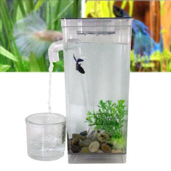 Sinlin ตู้ปลามินิ พร้อมไฟ LED My Fun Fish Cleaning Tank รุ่น MFT02-IY