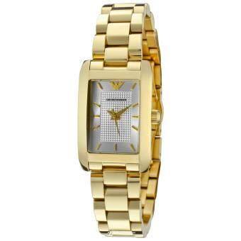 Emporio Armani AR0360 Ladies Classic Gold Watch(Black)