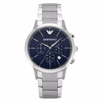 นาฬิกาข้อมือสุภาพบุรุษ Emporio Armani Men's AR2486 Dress Silver Watch