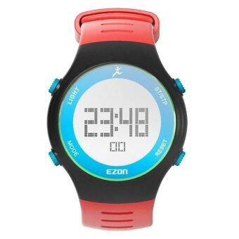 EZON L008 sports pedometer digital watches 30m waterproof watch