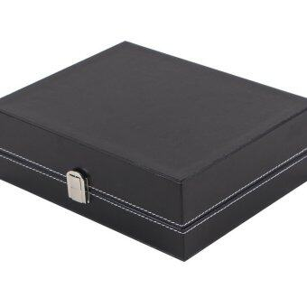 Fancybox กล่องนาฬิกาไม้บุหนัง สำหรับนาฬิกา 10 เรือน (Black) (image 2)