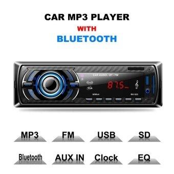 รถสเตอริโอวิทยุ FM USB/SD/MP3 1 DIN เครื่องเสียงเครื่องเล่นบลูทูธ IN-Dash เครื่องเล่น