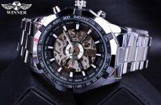 Forsin Skeleton Mechanical Men's Watch Luxury Famous Brand Military Gold Wrist Watch Men Winner Skeleton Watch