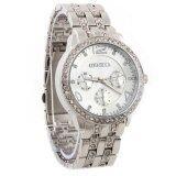 Geneva นาฬิกาข้อมือผู้หญิง WP8502(Silver) พิเศษแถมซองนาฬิกาสวยหรู
