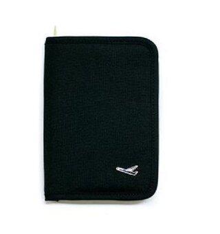 GJP กระเป๋าใส่พาสปอร์ต และเอกสารเดินทาง Travelus Folder Ver.2(สีดำ)