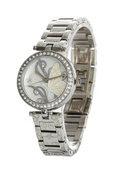 ประเทศไทย GK นาฬิกาข้อมือผู้หญิง สายสแตนเลส (George Klein) รุ่น GK20430 - สีเงิน