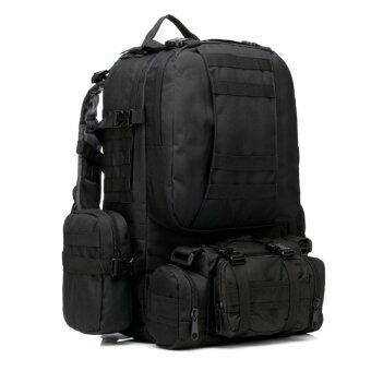 good dee กระเป๋าสะพายเดินทางจัมโบ้ ชุด 4 in 1 (สีดำ)