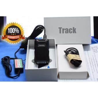 GPS ONE Fashion gpsone C1 gps tracker + Adapter 12v To 5V เครื่องติดตาม ดักฟังได้ ดูผ่านแอปมือถือได้ ดูย้อนหลังได้ ดูแบบหลายเครื่องได้ ฟรีไม่มีใช้จ่าย