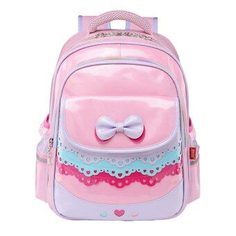 Harga Grade 1-3 Primary Students Girls Pu School Bags Kids Bookbag GirlsSchool Backpack Daypack – pink