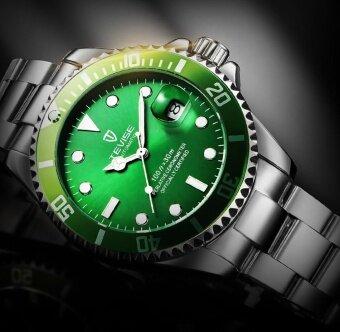 ... Green Men Watches TEVISE Automatic Mechanical Watch Luxury Brand Waterproof Luminous Men Watch Calendar Clock Relogio