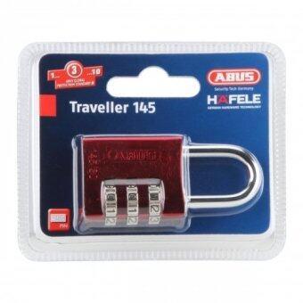 HAFELE กุญแจล็อคแบบใช้รหัส รุ่น 145/30 ขนาด 20 มม. สีแดง 482.01.859