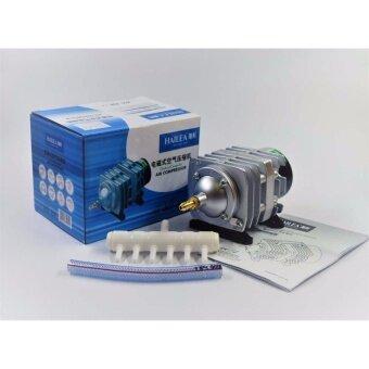 ปั้มออกซิเจน เติมอากาศ HAILEA รุ่น ACO-208 กำลังไฟ 25 Watt ต่อใช้งานได้ขั้นต่ำ 6 หัว