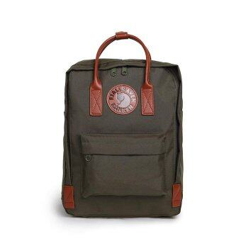 ซื้อแฟชั่นคุณภาพสูงกันน้ำ Kanken กระเป๋าเป้สะพายหลังกระเป๋า คลาสสิกผู้หญิงกระเป๋าสำหรับสาววัยรุ่น Mochilas (ArmyGreen)