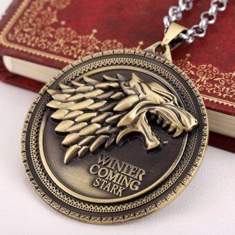 hequ movie necklace hbo game of thrones house stark winter iscoming bronze 2 metal pendant intl 1496422817 24602141 2365a3c911ab132c932ef69991965a4e product ซื้อสินค้า Hequ Movie necklace HBO Game of Thrones House Stark Winter IsComing Bronze 2 Metal pendant