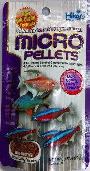 Hikari Micro Pellets อาหารสำหรับปลาขนาดเล็ก 22 g.