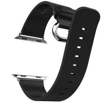 Hoco Luxurious Band Genuine Leather Watchband for Apple Watch 42mm (Black)