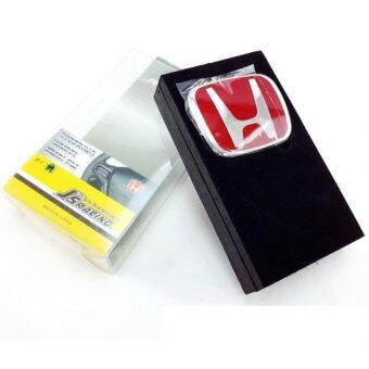 Honda โลโก้ พวงมาลัย แดง โลโก้ติดพวงมาลัย Honda สีแดง สำหรับ CIVICFD FB ACCORD