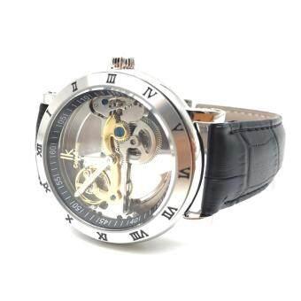 ราคา นาฬิกา IK Colouring รุ่น SB2 ระบบ Self-Wind Automatic Movement เรือนสแตนเลส สายหนังแท้สีดำ