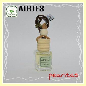 aibies [กลิ่นไวท์ทีและกีวี] น้ำหอมรถอโรม่า ปลอดแอลกอฮอล์ ขนาด 4 mL