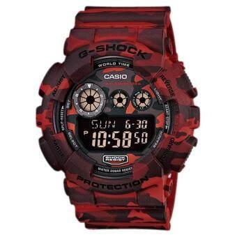 Casio G-Shock นาฬิกาข้อมือรุ่น GD-120CM-4DR - ประกัน CMG 1 ปี