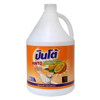 ปินโต้ น้ำยาล้างจาน 3800มล - ส้ม