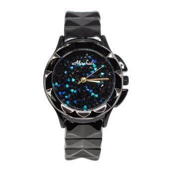 Mashali นาฬิกาข้อมือแบรนด์แท้ รุ่น M-88115B-black-blue