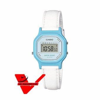 Casio Standard Lady Digital นาฬิกาข้อมือ สายหนัง รุ่น LA-11WL-2A