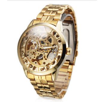 โครงกระดูกของมนุษย์จักรกลผู้นาฬิกาข้อมือ (ทอง)