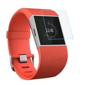 โอ้แก้วครอบกันรอยหน้าจอหนังอารมณ์สำหรับ Fitbit นาฬิกาอัจฉริยะคลื่นความโปร่งใส