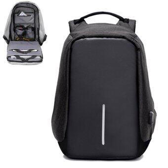 SUN Anti-Theft กระเป๋าเป้นิรภัยแล็ปท็อป Backpack - สีดำ (image 0)