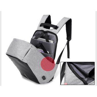 SUN Anti-Theft กระเป๋าเป้นิรภัยแล็ปท็อป Backpack - สีดำ (image 3)