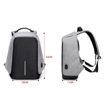 SUN Anti-Theft กระเป๋าเป้นิรภัยแล็ปท็อป Backpack - สีดำ (image 1)