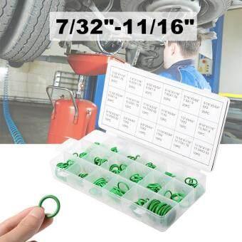 270ชิ้นแหวนยางโอริงยางซีลวงแหวนหลายชุดไตรหมายเลข 18 ขนาดสีเขียว TE487