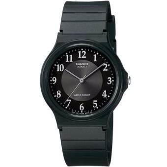 Casio นาฬิกาข้อมือ สายเรซิ่น รุ่น MQ-24-1B3LDF-สีดำ