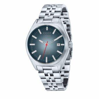 Harga CCCP SHCHUKA CP-7012-33 Men's Stainless Steel Solid Bracelet Watch - intl