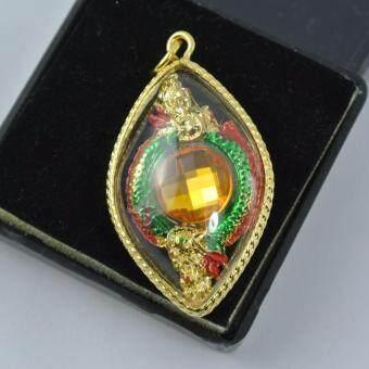 Pearl Jewelry จี้เพชรพญานาค บ่วงนาคบากท์ ล้อมเพชรสี PD33