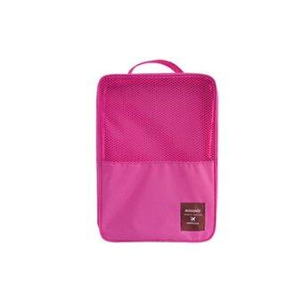 Monopoly กระเป๋าใส่รองเท้าและอุปกรณ์ฟิตเนสอเนกประสงค์ - Blush Pink