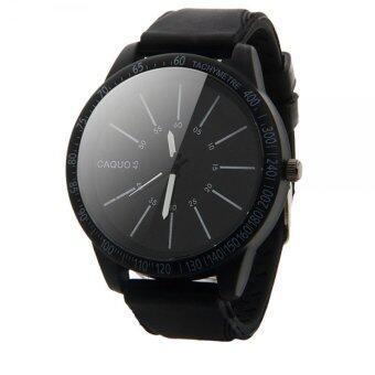 ความคล้ายคลึงกีฬาแฟชั่นสเตนเลสนาฬิกาข้อมือควอตซ์ (สีดำ)