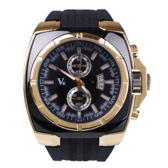 ความเป็นธรรมของธุรกิจทั้งนาฬิกาข้อมือกีฬาซิลิโคนผลึกสีดำ