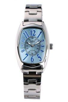 Casio Standard นาฬิกาข้อมือผู้หญิง สายสแตนเลส รุ่น LTP-1208D-2BDF - เรือนเหล็ก/หน้าฟ้า
